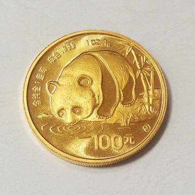 K24パンダ金貨